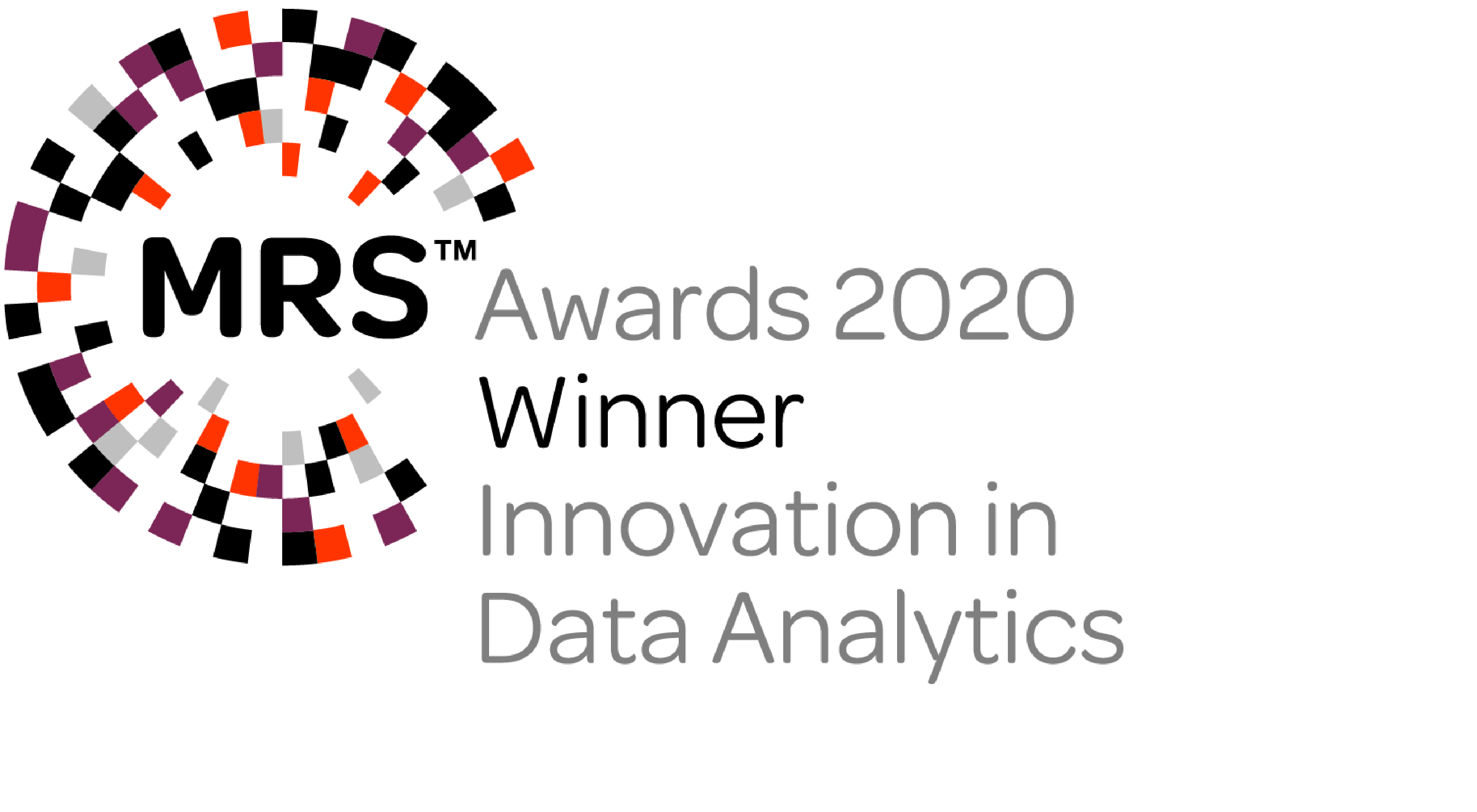 Winner Innovation in Data Analytics at the MRS Awards 2020 (Yonder & Macmillan Cancer Support)