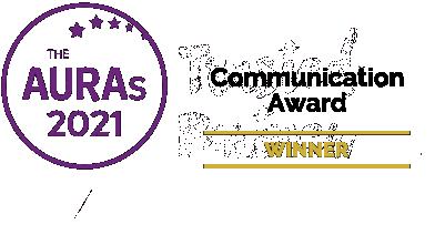Winner Communication award at the AURA awards 2021 (Yonder)